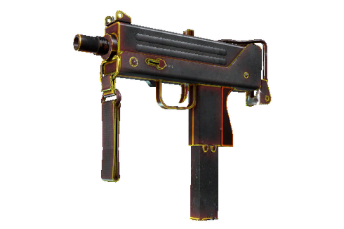 Buy MAC-10 | Heat (Battle-Scarred)