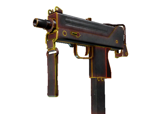 MAC-10 | Heat Battle-Scarred
