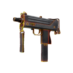 StatTrak™ MAC-10 | Heat (Well-Worn)