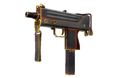 Buy StatTrak™ MAC-10 | Heat (Well-Worn)