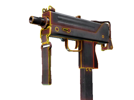 StatTrak™ MAC-10 | Heat (Battle-Scarred)