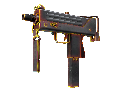 MAC-10 | Heat Minimal Wear