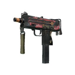 StatTrak™ MAC-10 | Curse (Battle-Scarred)