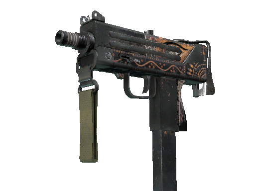 MAC-10 | Rangeen Battle-Scarred