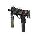 StatTrak™ MAC-10 | Rangeen <br>(Battle-Scarred)