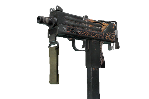 Buy StatTrak™ MAC-10 | Rangeen (Battle-Scarred)
