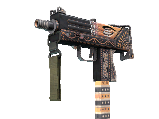 StatTrak™ MAC-10 | Rangeen (Battle-Scarred)