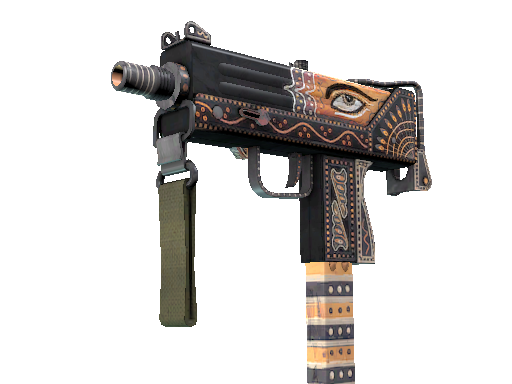 MAC-10 | Rangeen (Battle-Scarred)