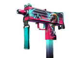 StatTrak™ MAC-10 | Neon Rider (Field-Tested)