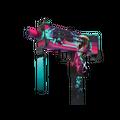 MAC-10 | Neon Rider <br>(Well-Worn)
