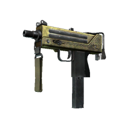 StatTrak™ MAC-10 | Graven (Battle-Scarred)
