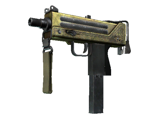 MAC-10 | Graven Battle-Scarred