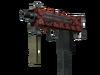 StatTrak™ MAC-10 | Carnivore (Battle-Scarred)