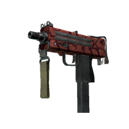 StatTrak™ MAC-10 | Carnivore (Battle-Scarred)