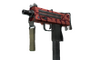 StatTrak™ MAC-10 | Carnivore (Well-Worn)
