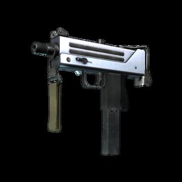MAC-10 | Silver (Minimal Wear)