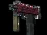 MAC-10   Red Filigree