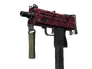 Skin MAC-10 | Red Filigree