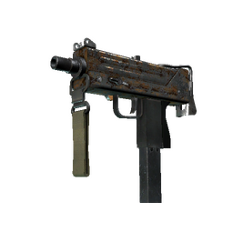 MAC-10 | Copper Borre (Battle-Scarred)