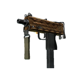 MAC-10 | Copper Borre (Field-Tested)