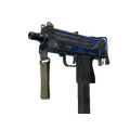 MAC-10 | Lapis Gator <br>(Battle-Scarred)