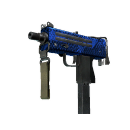 StatTrak™ MAC-10 | Lapis Gator (Factory New)