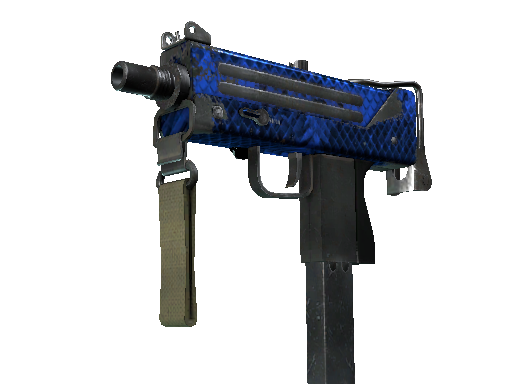 MAC-10 | Lapis Gator Field-Tested