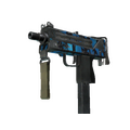 StatTrak™ MAC-10 | Oceanic <br>(Battle-Scarred)