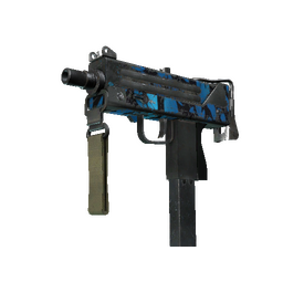 StatTrak™ MAC-10 | Oceanic (Battle-Scarred)