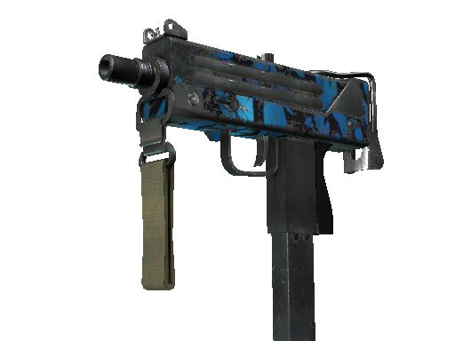 MAC-10 | Oceanic Battle-Scarred