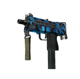 StatTrak™ MAC-10 | Oceanic (Well-Worn)