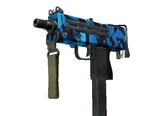 MAC-10 | Oceanic Minimal Wear