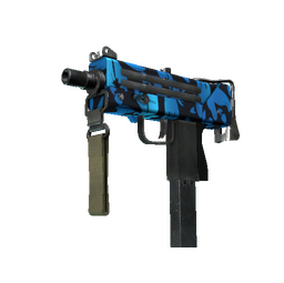 StatTrak™ MAC-10 | Oceanic (Minimal Wear)