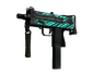 StatTrak™ MAC-10 | Malachite (Battle-Scarred)