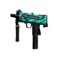 StatTrak™ MAC-10 | Malachite <br>(Well-Worn)