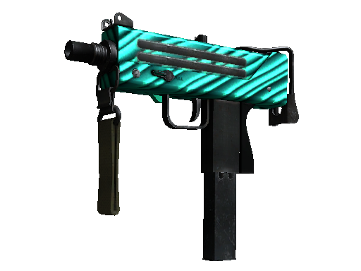 StatTrak™ MAC-10 | Malachite (Battle-Scarred)