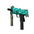 StatTrak™ MAC-10 | Malachite <br>(Minimal Wear)