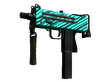 MAC-10 Malachite