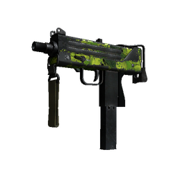 MAC-10 | Nuclear Garden (Battle-Scarred)