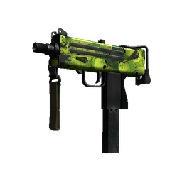 Souvenir MAC-10 | Nuclear Garden (Well-Worn)