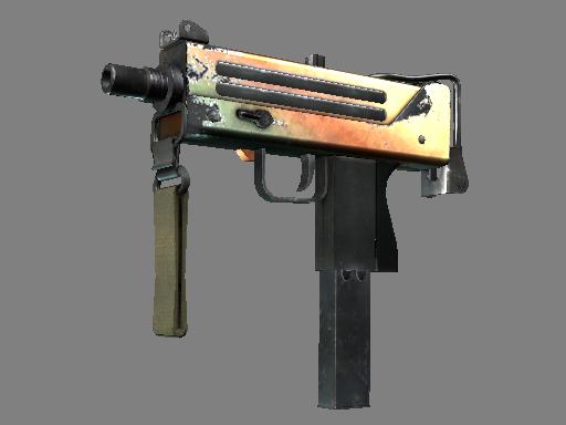 Milspec MAC-10 Amber Fade