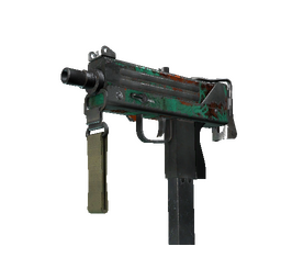 StatTrak™ MAC-10 | Last Dive (Battle-Scarred)