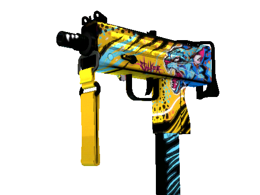 StatTrak™ MAC-10 | Stalker (Battle-Scarred)