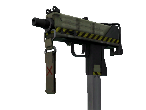 StatTrak™ MAC-10 | Classic Crate (Battle-Scarred)