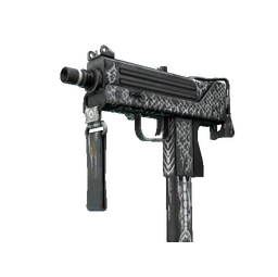 MAC-10 | Whitefish (Battle-Scarred)