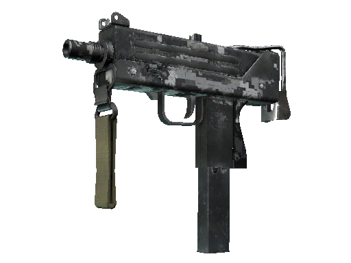 MAC-10 | Urban DDPAT Battle-Scarred