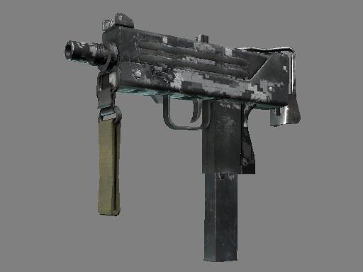 MAC-10 | Urban DDPAT (Battle-Scarred)