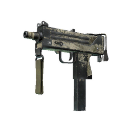 free csgo skin Souvenir MAC-10 | Palm (Battle-Scarred)