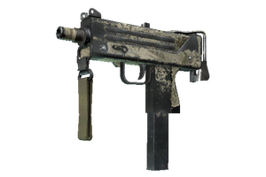 Mac 10 Palm Battle Scarred