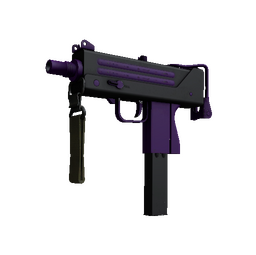 StatTrak™ MAC-10 | Ultraviolet (Minimal Wear)